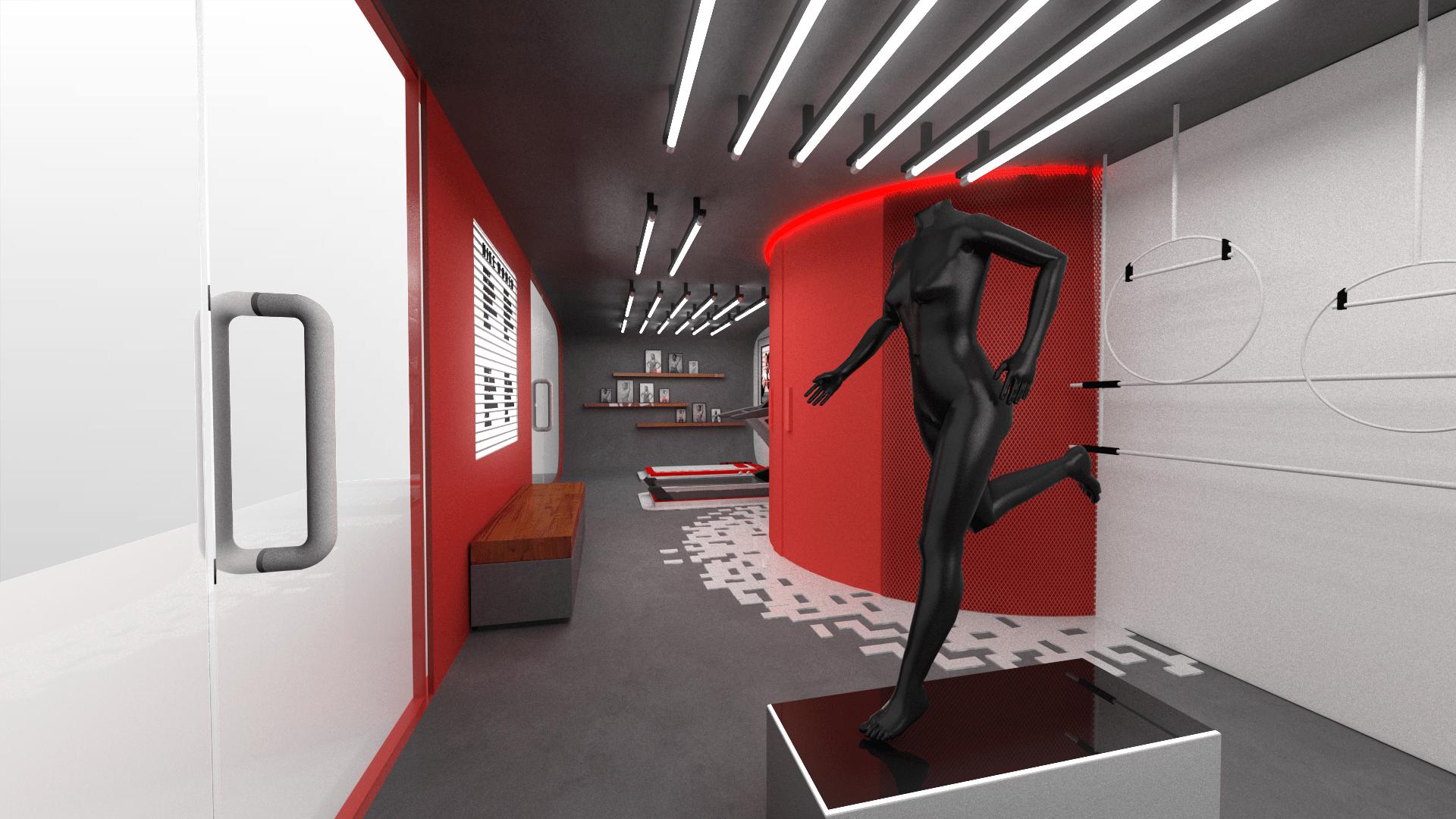 Nike Retail Design BBH